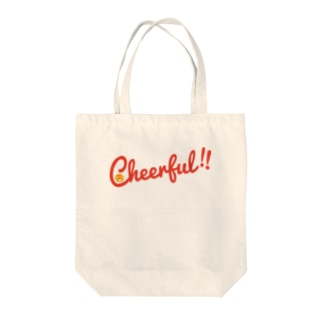 Cheerful!! Tote bags