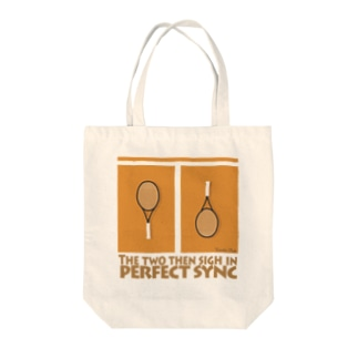 Perfect Sync Tote bags