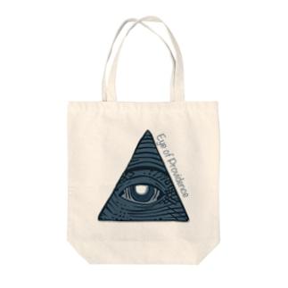 プロビデンスの目 Tote bags