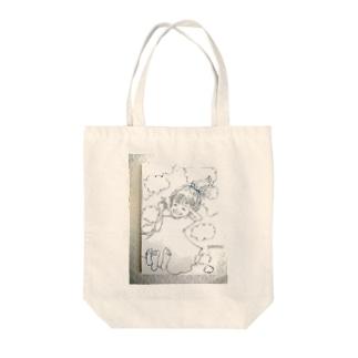 魔法のコトバ Tote bags