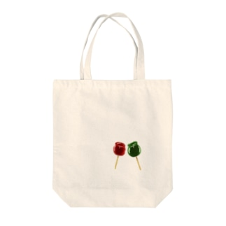 candied apples Tote bags