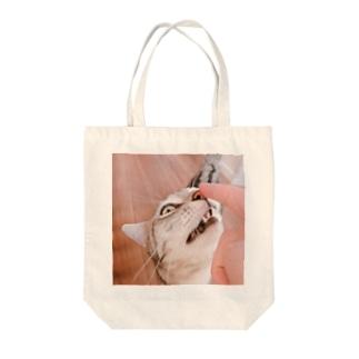 うちのネッコ Tote bags