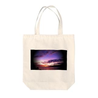 マウイ島日没 Tote bags