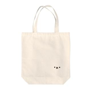何かの顔 Tote bags