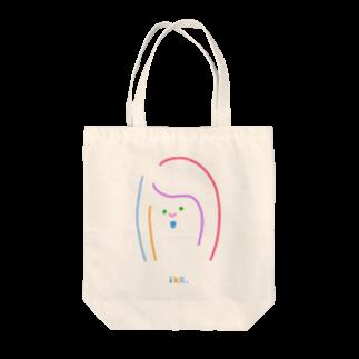 iKR,のカラフル女っち Tote bags