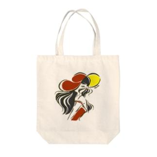 炎夏 Tote bags