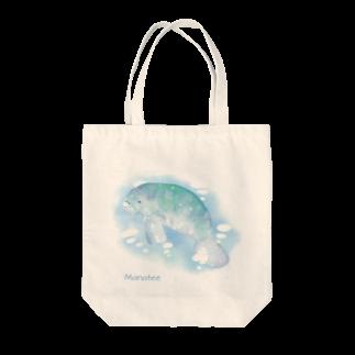 ナナホシ屋のマナティ Tote bags