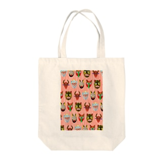 MEXICAN MASKS Tote bags