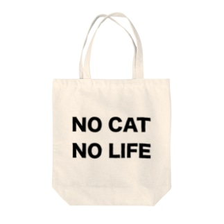 NO CAT NO LIFE Tote Bag