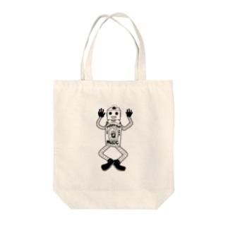 POTATO BOY Tote bags