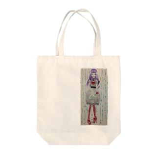 チェシャ・原画 Tote bags