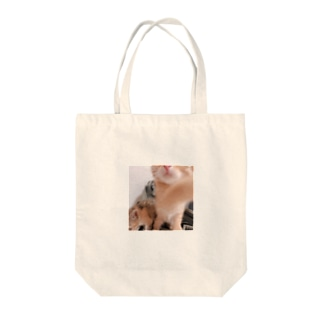 パンチングめんま Tote bags