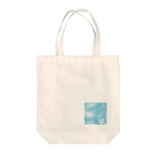 くまさん雲 Tote bags