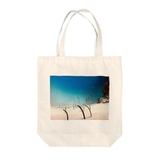 hoshiのチンアナゴ Tote bags