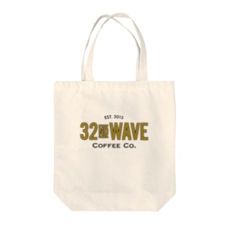 32nd Wave Coffee Co. - Gold Leaf Tote bags