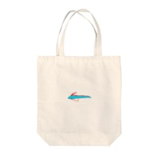 リュウグウノツカイ Tote bags