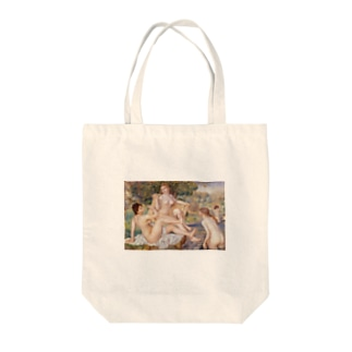 大水浴図 / ルノワール Tote bags