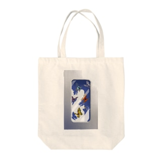 butterflies in the case Tote bags