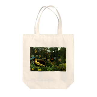 Art Baseの夢 / アンリ・ルソー(The Dream 1910) Tote bags