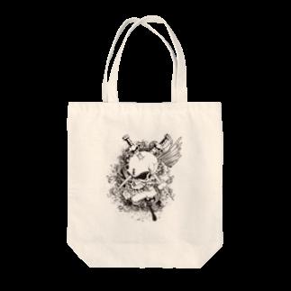 IZANAGIのドクロ~~ Tote bags