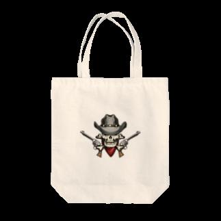 IZANAGIのアンティークなドクロ~ Tote bags