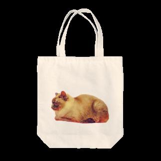 こっちゃんの暖色ここやん Tote bags