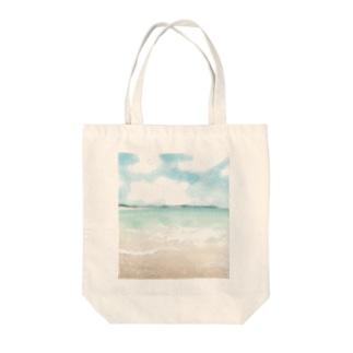 そうだ海に行こう! Tote bags