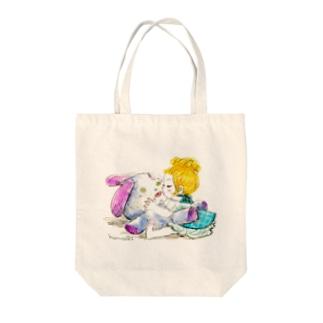 キススキ Tote bags