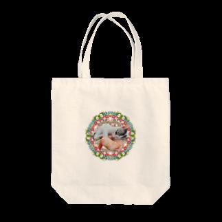 保護猫カフェ「駒猫」さん家のNo.4 イチゴちゃん♪ Tote bags
