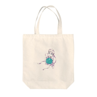 花束と男の子 Tote bags