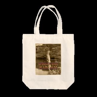 釣りのBLACK BASS Tote bags