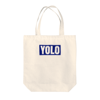 Koco'sのYOLO Tote bags