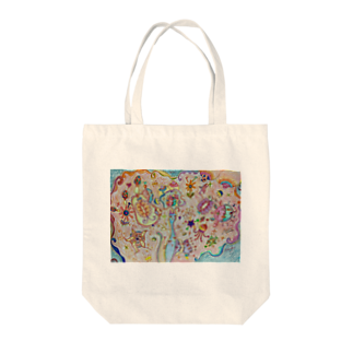 tomo4のミミ Tote bags