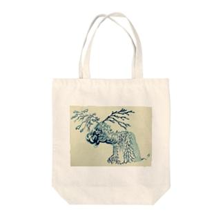 Deer. Tote bags