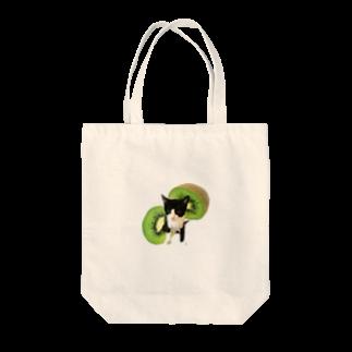 保護猫カフェ「駒猫」さん家のNo.5 キウイくん♪ Tote bags