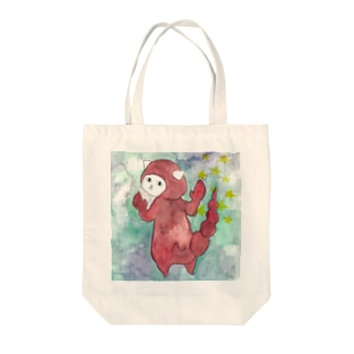 さそり座のネコ Tote bags