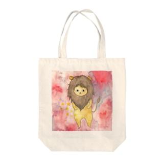 しし座のネコ Tote bags