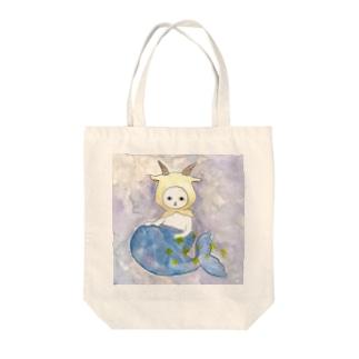 やぎ座のネコ Tote bags