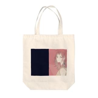 赤髪さん Tote bags