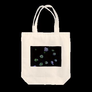 maki_fujiyamaのdot universe Tote bags