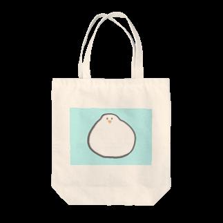 Aiko Furumotoのモチモチのトリ Tote bags