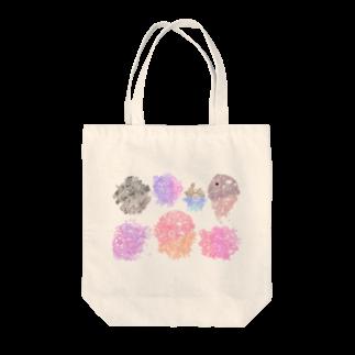 るまるの細密画 Tote bags