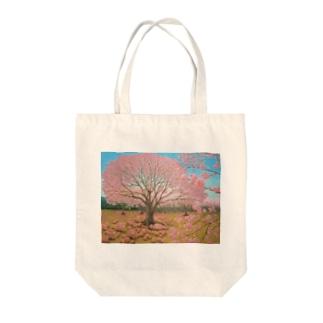 さくらひつじの開花 Tote bags