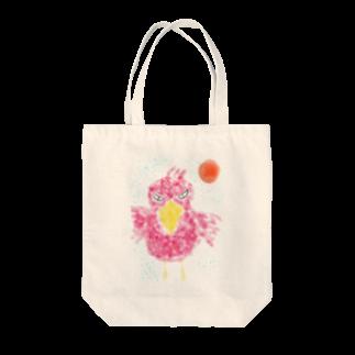 manamanawaruのアカびろこう Tote bags