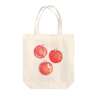 赤いりんご Tote bags