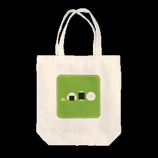 FUJIMAのおにぎり(グリーン) Tote bags