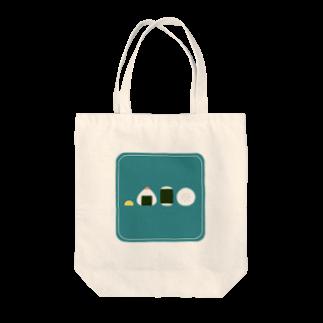 FUJIMAのおにぎり(ブルー) Tote bags