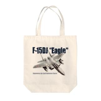 F-15DJ Tote bags