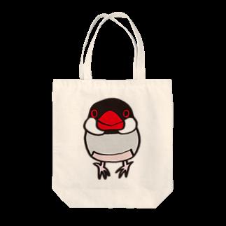 文鳥堂のノーマル文鳥 トートバッグ