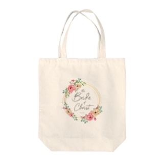 the Bride of Christ Tote bags